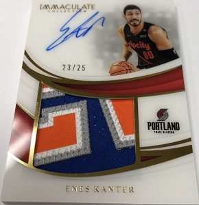 Premium Patch Auto Enes Kanter
