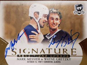 Signature Renditions Combo Mark Messier, Wayne Gretzky