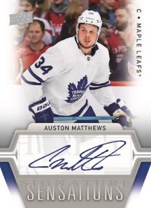 Signature Sensations Auston Matthews MOCK UP