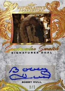 Spectacular Swatch Signatures Dual Front Bobby Hull