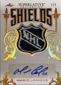Superlative Shields Signatures Mario Lemieux