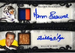 Superlative Trailblazers Signatures Manon Reaume, Willie O'Ree