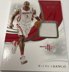 Swatches Steve Francis