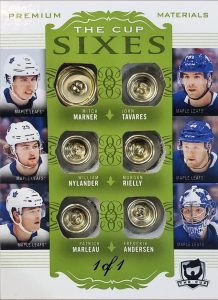 The Cup Sixes Mitch Marner, William Nylander, Patrick Marleau, John Tavares, Morgan Reilly, Frederik Andrsen