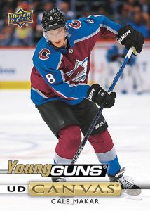 Young Guns Canvas Cale Makar