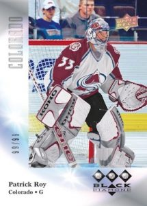 1996-97 Tribute Diamond Relics Patrick Roy MOCK UP