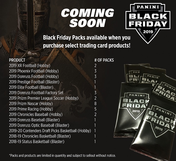 2019 Panini Black Friday