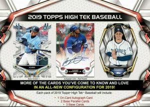 2019 Topps High Tek Baseball