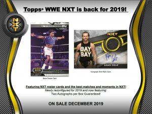 2019 Topps WWE NXT