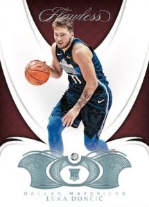2018-19 Panini Flawless Base Diamond Luka Doncic MOCK UP