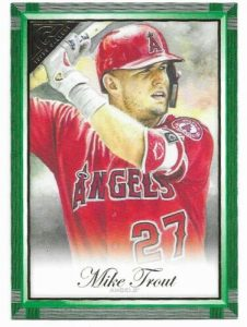 Base Green Mike Trout