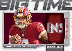 Big Time Relics Dwayne Haskins MOCK UP