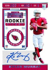 Contenders Rookie Ticket Preview Blue Kyler Murray MOCK UP