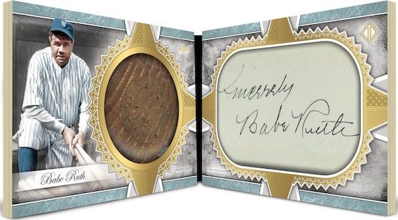 Cut Signature Bat Knobs Babe Ruth MOCK UP