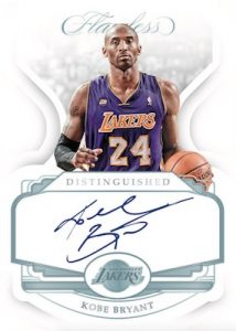 2018-19 Panini Flawless Distinguished Autos Kobe Bryant MOCK UP