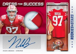 Dress For Success Auto Relics Nick Bosa MOCK UP