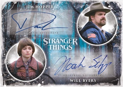 Dual Auto Jim Hopper, Will Byers MOCK UP