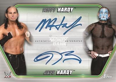Dual Auto Matt Hardy, Jeff Hardy MOCK UP