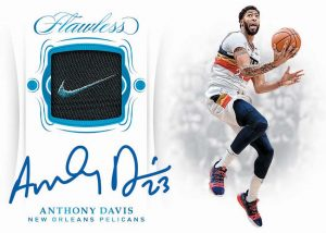 2018-19 Panini Flawless Flawless Patch Auto Anthony Davis MOCK UP