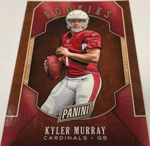 Football Rookies Kyler Murray