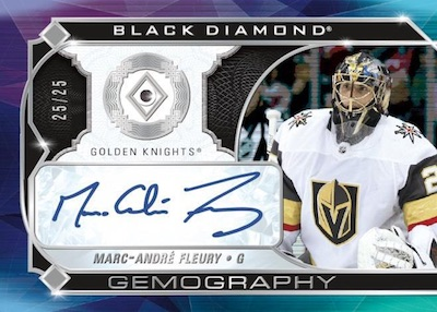 Gemography Diamond Auto Marc-Andre Fleury MOCK UP