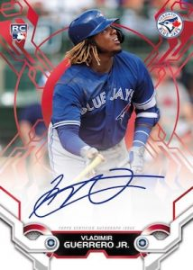 High Tek Auto Red Vladimir Guerrero Jr MOCK UP