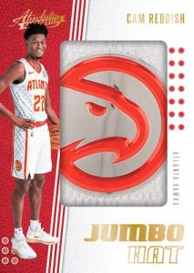 Jumbo Hat Team Logo Cam Reddish MOCK UP