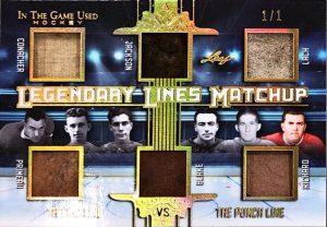 Legendary Lines Matchup Charlie Conacher, Joe Primeau, Busher Jackson, Toe Blake, Elmer Lach, Maurice Richard