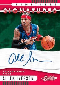 Limitless Signatures Allen Iverson MOCK UP