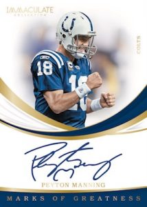 Marks of Greatness Auto Peyton Manning MOCK UP