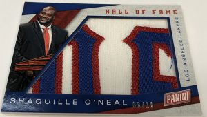 Multi-Sport Hall of Fame Jumbo Patch Shaquille O'Neal