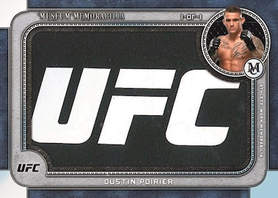 Museum Memorabilia Dustin Poirier MOCK UP