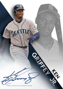 ReflecTEK Autos Ken Griffey Jr MOCK UP