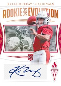 Rookie Evolution Auto Kyler Murray MOCK UP