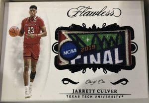 Rookie Patches Black Jarrett Culver