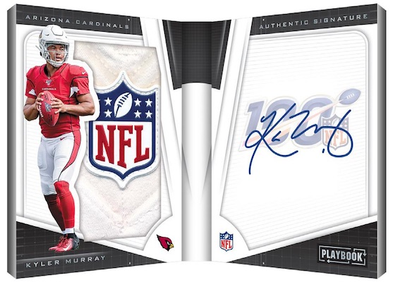 Rookie Playbook Jersey Auto Shield Kyler Murray MOCK UP