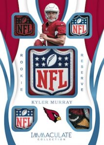 Rookie Reserve Relics Kyler Murray MOCK UP