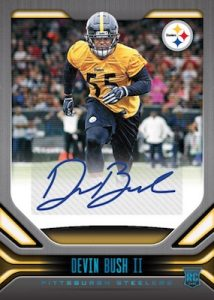 Rookie Signatures Blue Devin Bush II MOCK UP