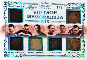 Vintage Memorabilia 6 Frank Patrick, Frank Nighbor, Newsy Lalonde, Jack Adams, Ace Bailey, Clint Benedict