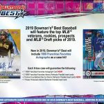 2019 Bowman's Best Baseball