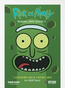 2019 Cryptozoic Rick and Morty Season 3