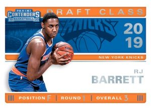 2019 Draft Class Contenders RJ Barrett MOCK UP