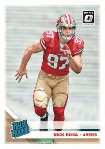 Base Rated Rookie Nick Bosa MOCK UP