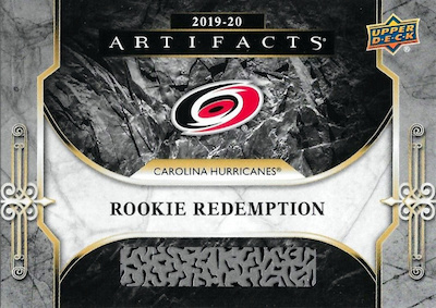 Base Rookie Redemption Carolina