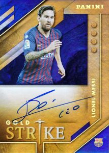 Gold Strike Auto Lionel Messi MOCK UP