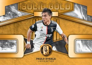 Solid Gold Paulo Dybala MOCK UP
