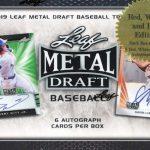 2019 Leaf Metal Draft Baseball