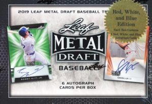2019 Leaf Metal Draft Baseball RWB