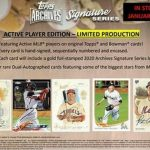 2020 Topps Archives Signature Series Active Player Edition