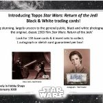 2020 Topps Star Wars Return of the Jedi Black & White